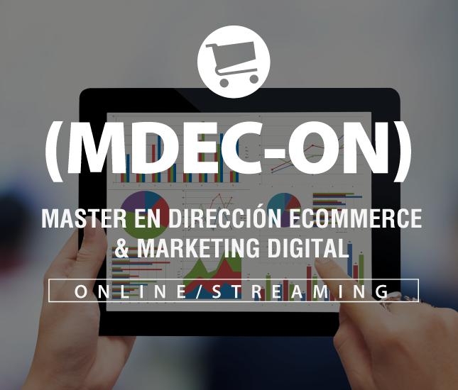Máster en Dirección eCommerce y Marketing Digital Online
